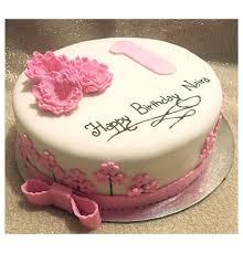 Baby Girl First Birthday Cake Order Online In Delhi Gurgaon