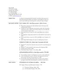Good Sales Resume Objectives Sidemcicek Com