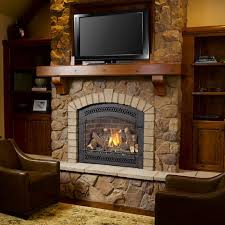 if your room construction or decor does not allow space for a traditional full surround fireplace