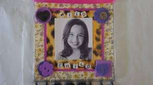 mother s day craft recycled cd case picture frame