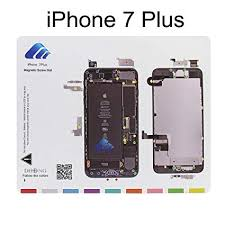 Dhong Design Magnetic Project Mat For Iphone 6 6s Plus 5s 5c 5 4s 4 Screw Mat Repair Guide Pad Screw Keeper Chart Map Professional Guide Pad