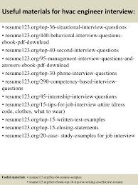 12 useful materials for hvac hvac technician sample resume