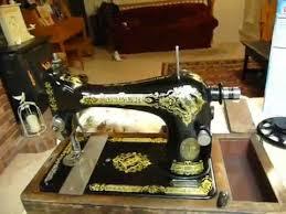 Hand Crank Singer Sewing Machine