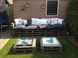 Pallet Backyard Furniture Pallet deck furniture 1 Pallet Backyard