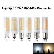 Desk Lamp Light Bulb Size Energy Saving E14 Dimmable Bi Pin Led Silicone Bulb 5 Watts