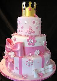 Birthday Cakes For Girls Princess Elegant Birthday Cake For Baby