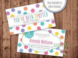 Youve Been Spotted Cards With 5 Dollar Off Coupon Dots Etsy