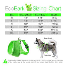 Petlove Dog Harness Size Chart Ecobark Maximum Comfort Dog Harness 365 Lbs Innovative No