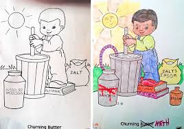 Small Picture Coloring Book Corruptions See What Happens When Adults Do