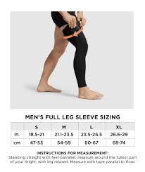 Mens Performance Compression Full Leg Sleeve
