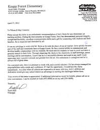 sample letter of recommendation for teaching position six letters of recommendation mr berta art teacher
