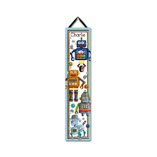 Toad And Lily Growth Chart Robot Personalized Growth Chart