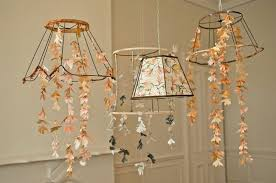 paper chandelier for wedding decorations