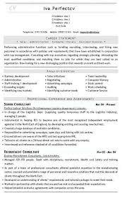 Recruitment Consultant CV Template