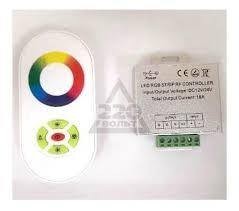 <b>Контроллер Urm</b> С10424 <b>RGB</b> RF6-24A-288/576W-12-24V-IP20 ...