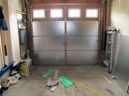 small garage doorSmall garage door insulation panels with styrofoam  Home Interiors