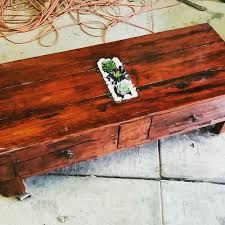 Instructables Coffee Table Redgum Pallet Coffee Table 5 Steps With Pictures