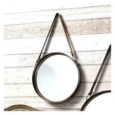 round leather mirrors round mirror with leather strap round mirrors set a round mirrors set round round leather mirrors leather strap