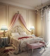 Romantic Bedroom Decoration Bedroom Moroccan Bedroom With Romantic Yellow Paint Wall Also