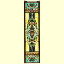 blackstone hall stained glass window hanging panel 35
