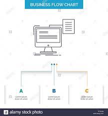 Resume Chart Resume Storage Print Cv Document Business Flow Chart
