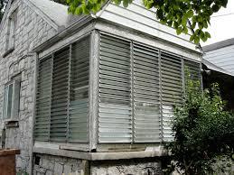 Decor: Aluminum Frame Glass Jalousie Windows For Mid Century Home ...