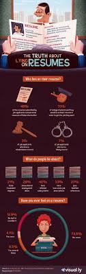 interesting stats on resume lies infographic your journey to a truth about lying on resume