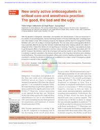 pdf stroke prevention in atrial fibrillation understanding the new anticoagulants dabigatran rivaroxaban and apixaban