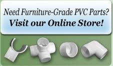 Pvc Parts Outdoor Furniture Replacement Parts For Pvc Furniture