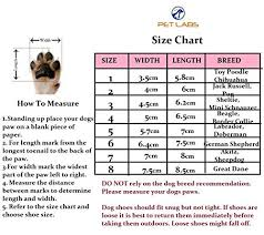 Premium Water Resistant Dog Shoes With Anti Slip Rubber Soles By Pet Labs Convenient Protective With Reflective Velcro Straps Flexible
