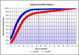 Farm Growth Chart Timshell Farm Puppy Growth Chart