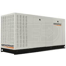 generac. Generac Commercial QT07068GNAX Series 70 KW Standby Generator 120/208V 3-PhaseNG