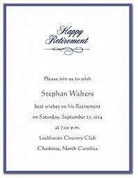 Retirement Luncheon Invitation Invitation For Retirement Party