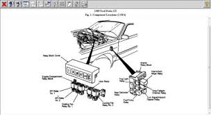 ford probe fuel pump relay engine mechanical problem  check and test the feul pump relay or swap a like one and see what happens