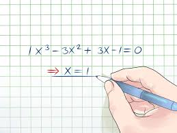 how to solve a cubic equation