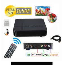 K2 DVB T2 DIGITAL TV BOX with HDMI CABLE & Digital Antenna