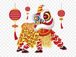 Gambar karikatur ucapan selamat ulang tahun. Singa Barongsai Tahun Baru Cina Gambar Png