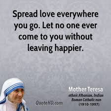 Mother Teresa Quotes On Love Beauteous Mother Teresa Love Quotes QuoteHD