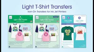 Jolee S Boutique Easy Image For Light Fabrics Instructions Light T Shirt Transfers For Ink Jet Printers