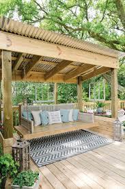 bora bora canopied porch swing