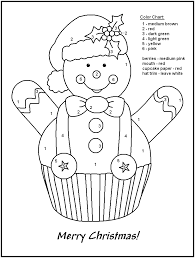 christmas color by number 10 christmas worksheets coloring pages printable coloring pages design on color by number spanish coloring page