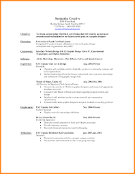 Graphic Design Resume Objective 100 graphic design resume objective applicationleter 6