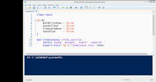 Excel Temp Service Github Dfinke Importexcel Powershell Module To Import