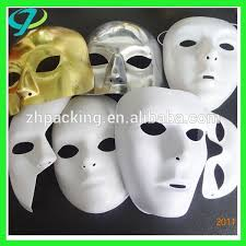 Plastic Masks To Decorate Blank White Masks Blank White Masks Suppliers and Manufacturers 39