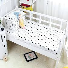 infant bed cotton baby bed linen set clouds printed baby crib sheets flat comfortable no fluorescence