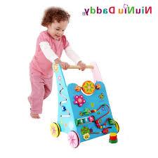 wooden push toys for toddlers baby toys wooden toddler stroller children multipurpose game push car