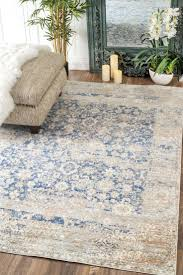 lavishly tan and white area rug charming blue rugs contemporary in living room beige