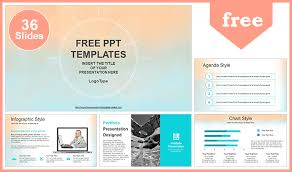 templates powerpoint gratis pastel watercolor painted powerpoint template