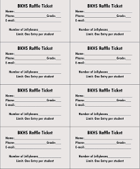 Template For A Raffle Ticket 45 Raffle Ticket Templates Make Your Own Raffle Tickets