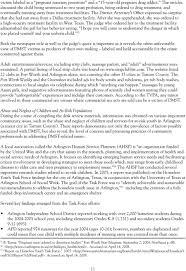 Domestic Minor Sex Trafficking Fort Worth Texas Pdf